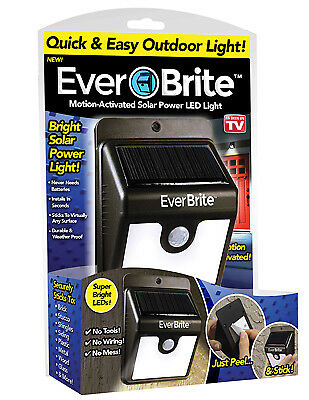 ONTEL PRODUCTS CORP Motion-Activated Outdoor LED Lights BRITE-MC12/4