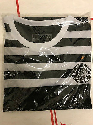 Chicago Blackhawks -  _**Soccer-Style Retro Jersey** _ SGA_10/28/2018 - NEW!!