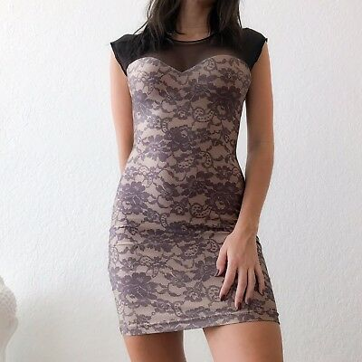 American Apparel Laced Mini Dress Size XS NWOT