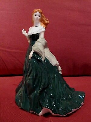 Beautiful Retired Ltd Edt Royal Worcester Figurine Joy From Les Petites Series