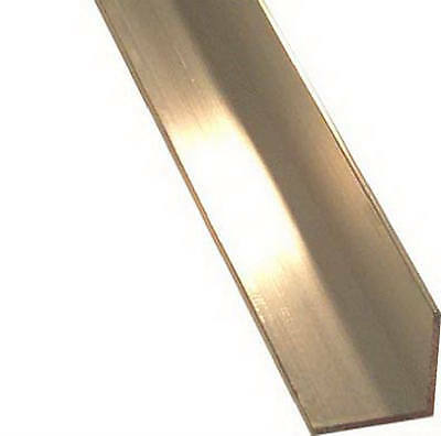 STEELWORKS BOLTMASTER Aluminum Angle, 1/16 x 1.25 x 1.25 x 48-In. 11366