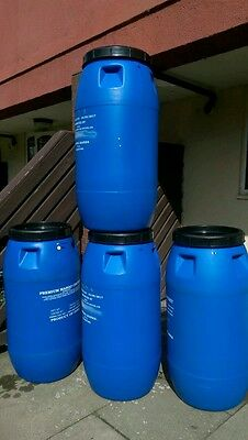 Plastic barrel 290lts, shipping,storrage,water butts,gardening,allotments