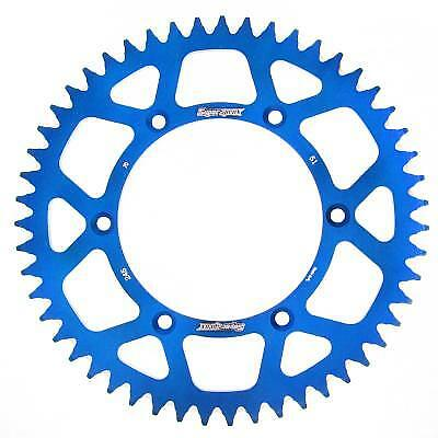 Supersprox Aluminium Blue Rear Sprocket 520 51 Teeth Yamaha YZ 125 D 2013