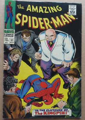 The Amazing Spider-Man #51, A Silver Age Classic From 1967.