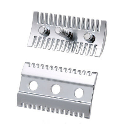 Double Edge Shaving Safety Razor Open Comb Head Male Safety Razor Head X3N4