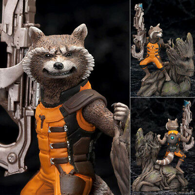 Figurines d'action Chaud Gardiens de la galaxie Groot Rocket Raccoon Toys Cadeau