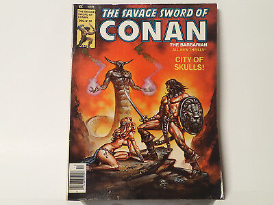 The Savage Sword of CONAN the Barbarian #59 Marvel Comics 1980 FN+   FL