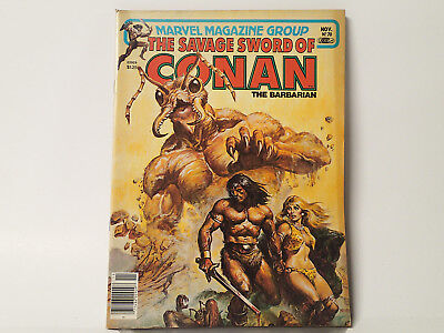 The Savage Sword of CONAN the Barbarian #70 Marvel Comics 1981 VG/FN   FL