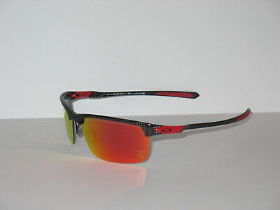 512c4e6ccb OAKLEY CARBON BLADE Polished Carbon - OO Red Iridium Polarized ...
