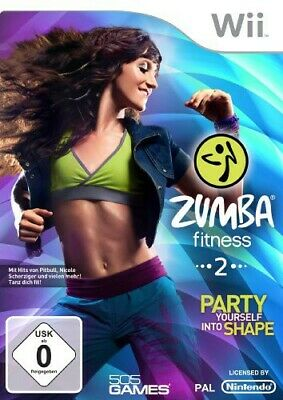Nintendo Wii - Zumba Fitness 2: Party yourself into Shape nur Software mit OVP