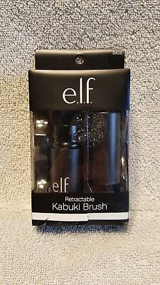 e.l.f. Retractable Kabuki Brush Soft Easy To Use Sleek Face Make-up Brushes Tool