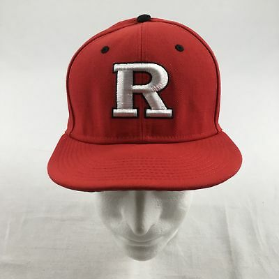 Nike Rutgers Scarlet Knights - Red Fitted Hat (Multiple Sizes) - Used e10ef97bbcc
