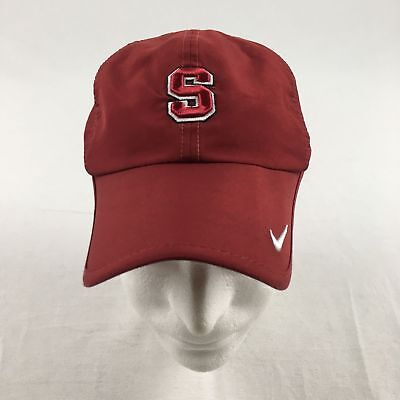 Nike Stanford Cardinal - Red Adjustable Hat (OSFM) - Used