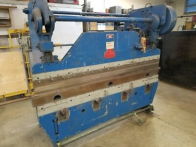 Press Brake with Punch and Die Sets