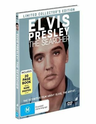 NEW Elvis Presley : The Searcher (Digibook Packaging) DVD Free Shipping