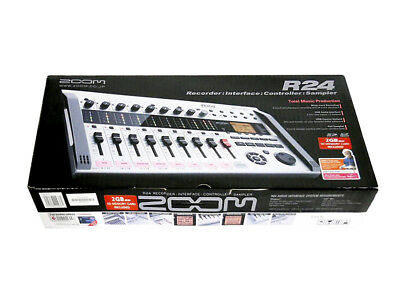 ZOOM R24 Hi Quality Multi-track Recorder from Japan DHL Fast Ship with Tracking