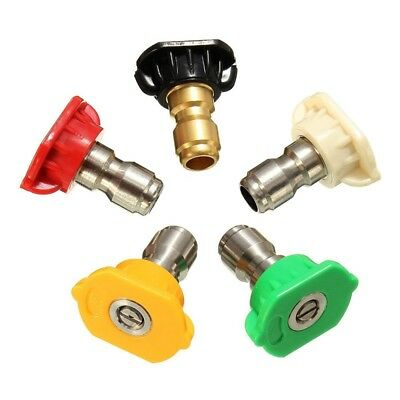 Z5Y3 2.5GPM Pressure Washer Rotating Turbo Spray Nozzles Tip5 color