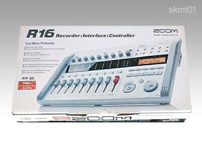 ZOOM R16 Multitrack Recorder New from Japan DHL Fast Shipping Tracking