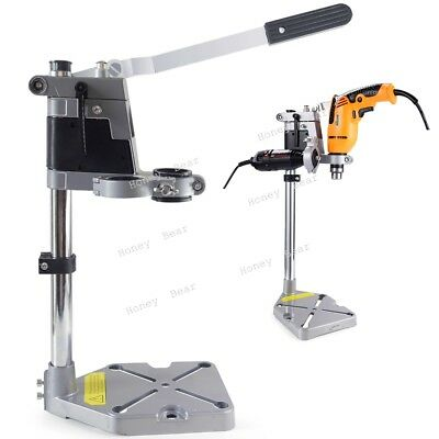 2 Mounting Holes Bench Drill Press Stand Base Frame for Drilling Collet 38/ 43mm