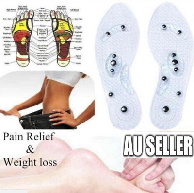 MindInSole Acupressure Massage Foot Therapy Reflexology Pain Relief New Insole