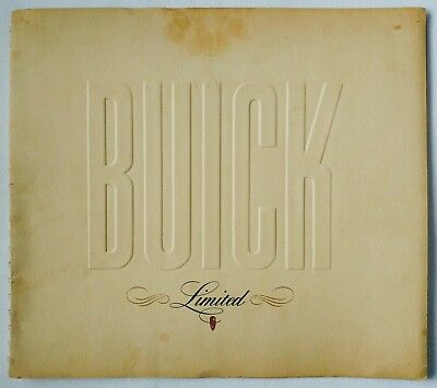 1940 Buick Limited Large Format Sales Brochure Sport Streamlined & Phaeton 80/90