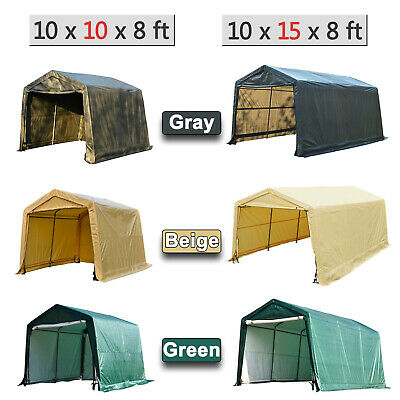 Terrific Canopy Carport Tent Auto Shelter Car Storage Shed Cover Outdoor Awning Portable Interior Design Ideas Skatsoteloinfo