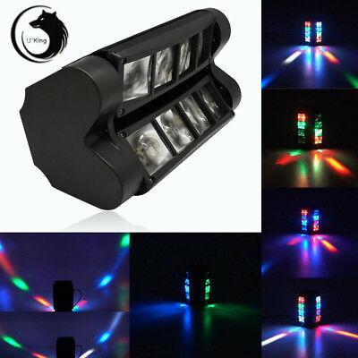 U`King 85W RGBW Spider Beam Stage Lighting Moving Head DMX512 Disco Party Light
