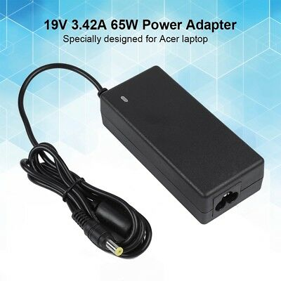 19V 3.42A 65W Laptop AC Adapter Power Supply Charger 5.5*1.7mm For Acer Gateway
