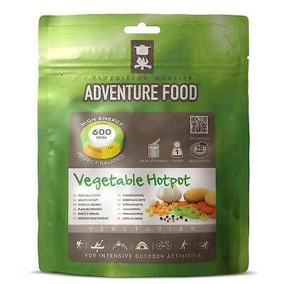 ADVENTURE FOOD Vegetable Hotpot - Outdoor Mahlzeit Not Verpflegung Essen Nahrung