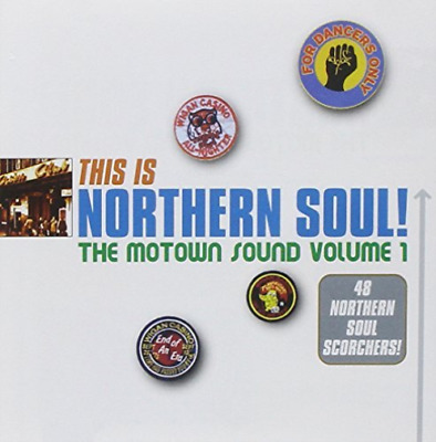 Various Artists-This Is Northern Soul! The Motown Sound Volume 1 CD NEW