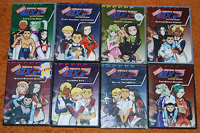 Tenchi Muyo GXP Series Complete Collection 8 DVD Set Vol 1,2,3,4,5,6,7,8 No Box