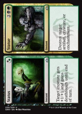 MTG 4x Status // Statue [English, Playset, Guilds of Ravnica, Free P&P]