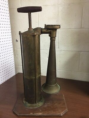 Leslie Tyfon Authentic Nautical Brass Ship Fog Horn
