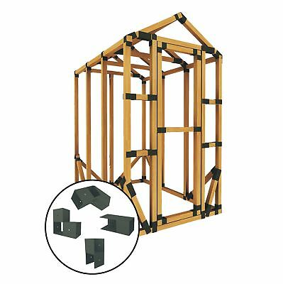 E-Z Frames 4ft W x 6ft D Greenhouse