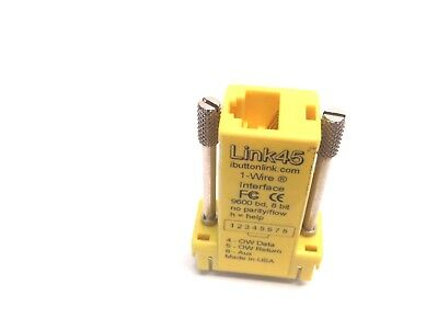 iButtonLink Link45 DB9F to RJ 45 Adapter 1-Wire Interface