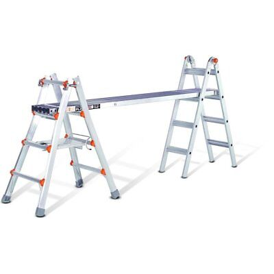Little Giant 6 to 9-foot Telescoping Plank - Silver