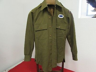 WWII US Army officer shirt 3rd Ranger Battalion/82nd airborne division named.