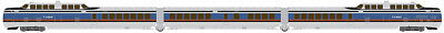 Rapido 520502, N Scale, TurboTrain, Penn Central / US DOT, DCC & Sound Equipped