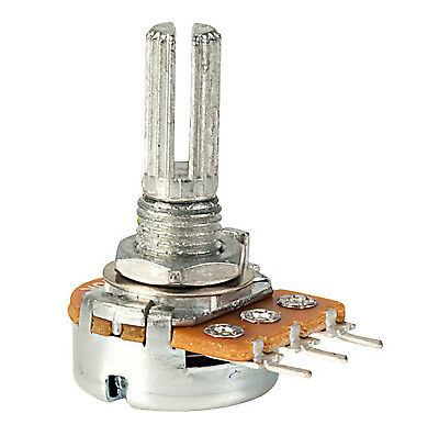 1 * 100k POTENTIOMETER Log pot variable resistor Logarithmic 100 K Ohm