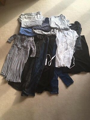 Quality maternity clothes size 10 bundle