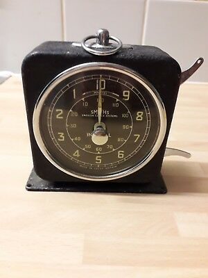 Photographic Timing Clock In Good Working Order and in good condition