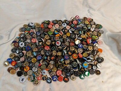 Approx 600 - 3 pounds Beer Bottle Caps Lot #2 Lagunitas Shorts Victory Abita