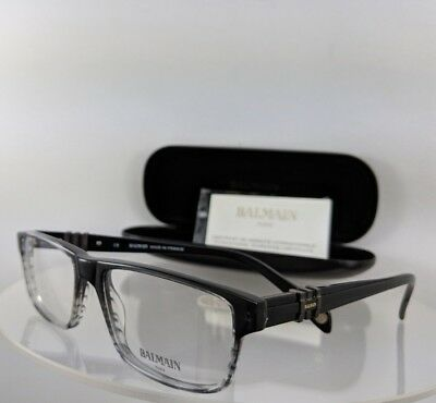 8134390f1cf AUTHENTIC BALMAIN BLACK Frames BL2067 02 Category 2 Gray Lens ...