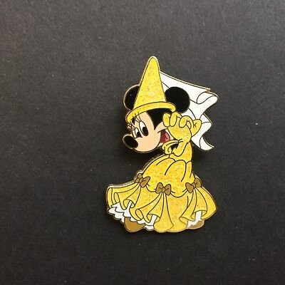 HKDL Minnie Mouse as Belle from Beauty and the Beast Very RARE Disney Pin 47756