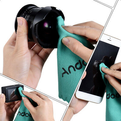 Andoer Cleaning Cloth Screen Glass Lens Cleaner for DSLR Camera Camcoder AH T0I6