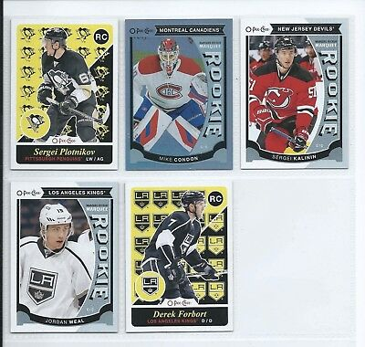 2015-16 O-Pee-Chee OPC Marquee Rookie, Retro Foil Lot Of 5 - Weal Condon ++