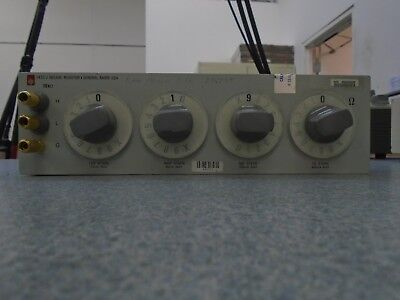 General Radio 1433J Decade Resistor (Works!)