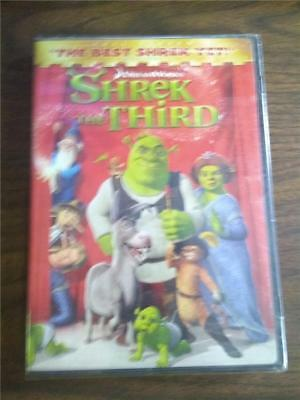 Shrek the Third (DVD, 2007, Full Screen Version) Brand New, Sealed!