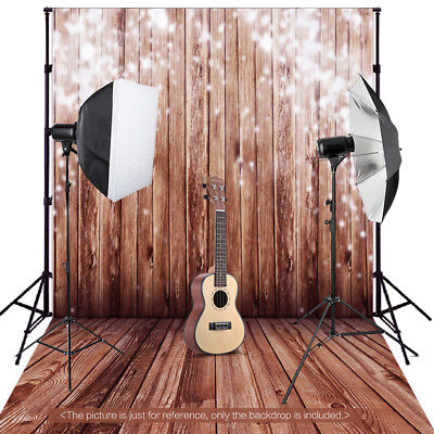 Andoer 1.5*2m Big Photography Background Backdrop Classic Fashion Wood J2E3