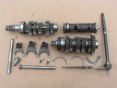Kawasaki Zzr250 Gearbox Parts Good Condition